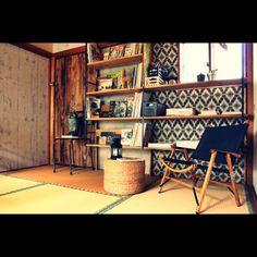 和室/セルフリフォーム/図書音楽室/手作り家具/壁/天井のインテリア実例 - 2015-03-17 14:25:50   RoomClip(ルームクリップ)