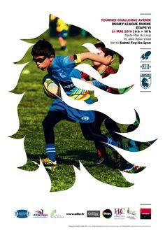 Sainte Foy Rugby League | Affiche évènementielle / Event Poster