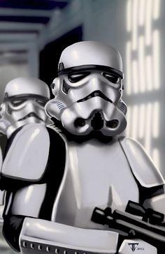 StormTrooper /by *juan7fernandez #deviantART #StarWars #art