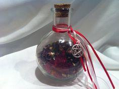 ATTRACTION spell bottle bellarmine. PASSION, Love, sex, relationships, desire. Romance, wishing bottle on Etsy, $25.50