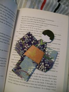 Origami Kimono Bookmark: The Sequel