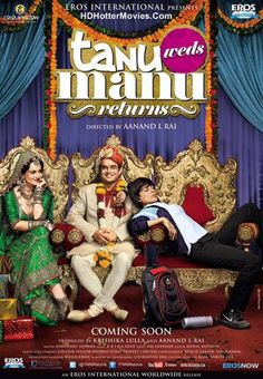 Tanu Weds Manu Returns Full Movie! Comedy Drama and Romantic Bollywood Movie!  http://www.hdhottermovies.com/2015/06/tanu-weds-manu-returns-full-movie.html  #bollywood #movies #tanuwedsmanureturns