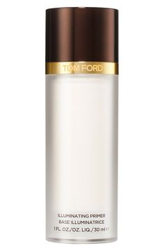 This Tom Ford Illuminating primer is the first step to flawless makeup application. Not only does it prep the skin, but it helps restore skin's vibrancy with a complex designed to naturally aid cellular growth and repair.