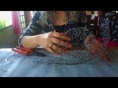 Caracol de cimento parte 1. - YouTube
