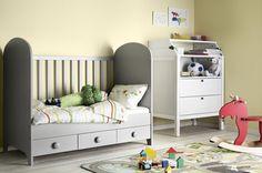 Lit de bébé évolutif Gonatt d'IKEA : 22 lits, berceaux et autres couffins pour bébé - Journal des Femmes Décoration