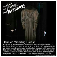 Altoona, Pennsylvania-The haunted dress...