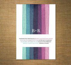 30 Ways to Add Stripes to Your Wedding via Brit + Co.