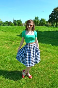 Tilly and the Buttons: The Picnic Blanket Skirt