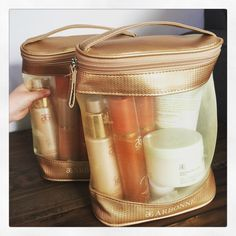 Arbonne Gold bag. Try out full samples in your own home for 3-5 days. Www.Jodygoddard.arbonne.com