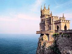 """Schloss """"Schwalbennest"""", Halbinsel Krim"""