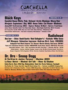 Coachella Music Festival Poster