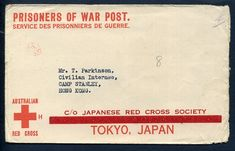 145692 - Lot 16 - Australia Covers - Postal History Covers - Australia Red Cross Pre Printed Envelope for Japanese… / MAD on Collections - Browse and find over 10,000 categories of collectables from around the world - antiques, stamps, coins, memorabilia, art, bottles, jewellery, furniture, medals, toys and more at madoncollections.com. Free to view - Free to Register - Visit today. #Stamps #PostalHistory #MADonCollections #MADonC