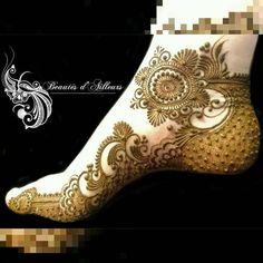 Take note that the original artist's watermark has been pixelated by the imposter artist Henna Tatoos, Mehandi Henna, Leg Henna, Leg Mehndi, Legs Mehndi Design, Foot Henna, Henna Tattoo Designs, Henna Art, Mehndi Art