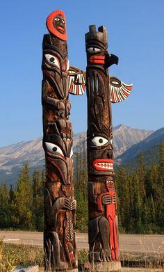 Totem Poles, Alaska