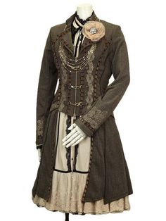 steampunkxlove: Tweed jacket - comes in two other colours.