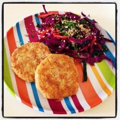 Chick Pea Patties.   Use minced almonds or almond flour in place of bread crumbs