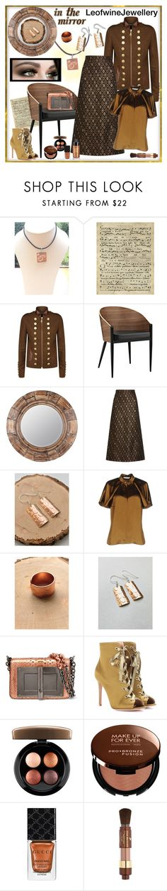 """LeofwineJewellery - Bronze Goddess (3)"" by carola-corana ❤ liked on Polyvore featuring Art Classics, Holland Cooper, Modway, Cooper Classics, Vanessa Seward, Lanvin, Tom Ford, Gianvito Rossi, MAC Cosmetics and MAKE UP FOR EVER"