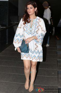 Akshay Kumar and Twinkle Khanna spotted at Hakkasan Restaurant
