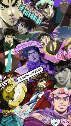 Jojo's Bizarre Adventure, Sword Art Online, Noragami, Manhwa, Jojo Bizarro, Koi, Vocaloid, Joseph Joestar, Bizarre Art