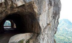 Route des ëcouges.  Vercors. Rhône-Alpes.