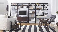 black-white-stripe-rug-office-shelves.png (501×278)