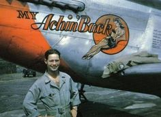 A Mustang nicknamed Nose Art, Rockabilly, Aircraft Painting, Airplane Art, P51 Mustang, Vintage Airplanes, Aviation Art, Pin Up Art, Military Art