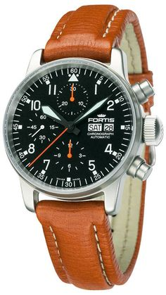 Fortis Watch Aviatis Flieger Classic Chronograph #bezel-fixed…