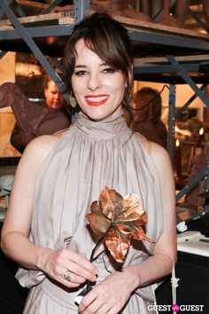 Parker Posey at the New York Academy of Art's Tribeca Ball Presented by Van Cleef & Arpels