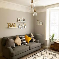 I am currently giving the house a major spring clean whilst the weather is so miserable, I don't really fancy venturing outside! Farm House Living Room, Room Design, Living Room Colors, Room Interior, Trendy Living Rooms, Living Room Interior, Living Room Grey, Living Decor, Cosy Living Room