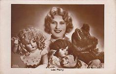 Silent-Film-Star-Lee-Parry-with-Porcelain-Dolls-Teddy-Bear-Vintage-Toys-pc