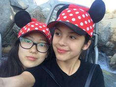 On Thursday, June 2, 2016, Madison Hu celebrated her 14th birthday, and it seems that she spent time at Disneyland Resort.  Her Bizaardvark co-star Olivia