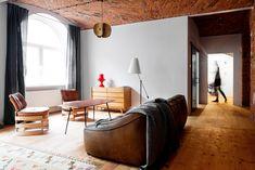 Wie man aus einem ehemaligen Fabrikgebäude wunderschönen Wohnraum gestalten kann.