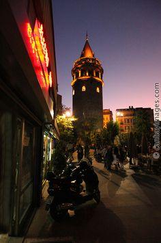 Galata at Night. Istanbul Travel, Travel Videos, Digital Nomad, Istanbul Turkey, Night Life, Big Ben, Wallpapers, Island, City