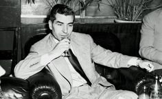 Now, the spotlight is on the well-known members of the Mafia, one of the most notorious criminal syndicates in history. Let's start with Italian gangster Lucky Luciano. Real Gangster, Mafia Gangster, Al Capone, Hotel Rome, Italian Mobsters, 1920s Gangsters, Billy The Kid, Mafia Crime, Mafia Families