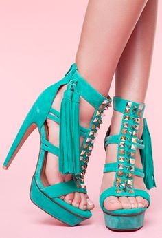 Turquoise shoes makes me happy :) #makesmehappy @White Stuff UK