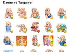 This great sticker pack is about Daenerys Targaryen a character from the game Of Thrones TV Series. Game Of Thrones Tv, Telegram Stickers, Daenerys Targaryen, Cute Animals, Packing, Drawings, Fictional Characters, Inspiration, Art
