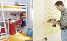 7 Places to Use Pegboard from Martha Stewart