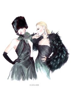 #Ralph Lauren Fall 2013 #Artworks by Lena Ker: inspiration