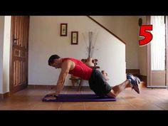 Planchas core abdominales - ¡variando la inclinación!