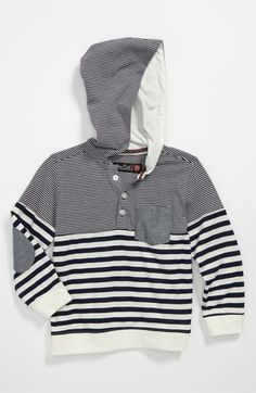 Sovereign Code Stripe Hoodie (Toddler) available at Nordstrom- I loooovve this!!! I need to buy it for quinn!