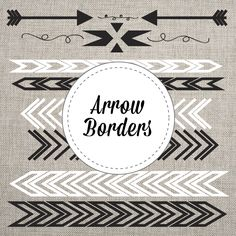 Included in this lovely package are the arrow borders shown in png and vector format! Add them to your web design, logo design, and more! I love to layer these over my photos in photo shop