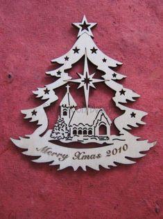 Resultado de imagen para laser cut ornament