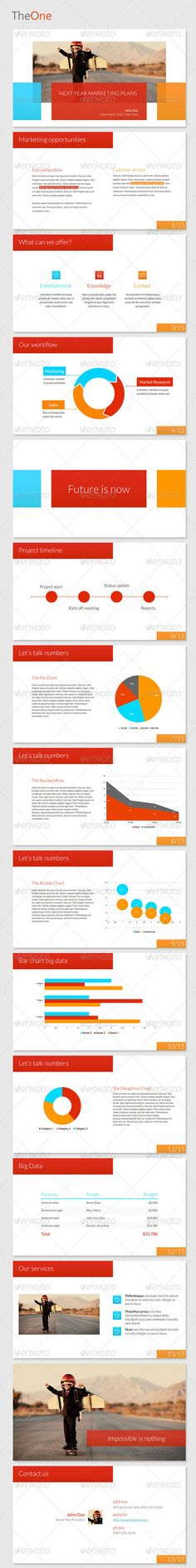 TheOne Powerpoint Template - GraphicRiver Item for Sale