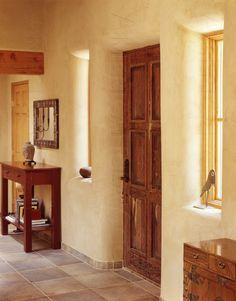 earthen plaster. Photo courtesy of American Clay