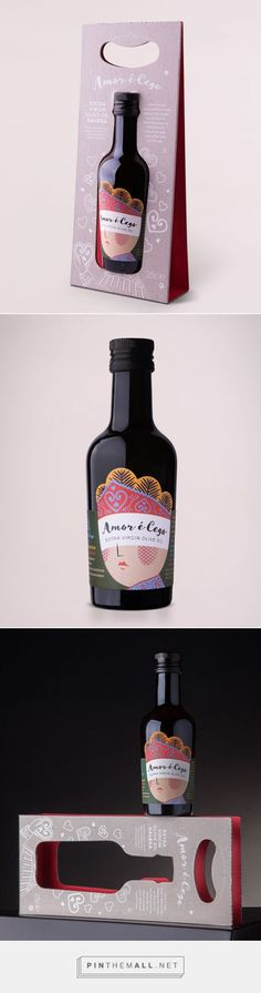 Amor e Cego extra virgine olive oil by Rita Rivotti. Source: Daily Package Design Inspiration.