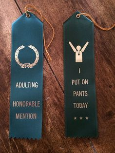 Get the most functional adult in your life an official Adult Award