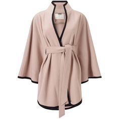 Cover up for transseasonal weather with this gorgeous cape from Jacques Vert. In a neutral shade for easy-styling, this cover-up offers a contemporary twist o… Wool Cape, Cape Coat, Casual Hijab Outfit, Casual Outfits, Hijab Fashion, Fashion Outfits, Poncho, Outerwear Jackets, Dress To Impress
