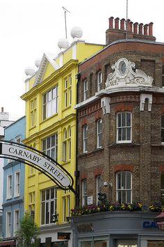 Carnaby Street, London by teresue, via Flickr