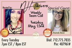 Tonight at 8pm eastern! Don't miss this explosive team call!!