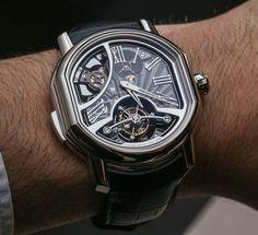 Bulgari Daniel Roth Carillon Tourbillon Minute-Repeater Watch Hands-On